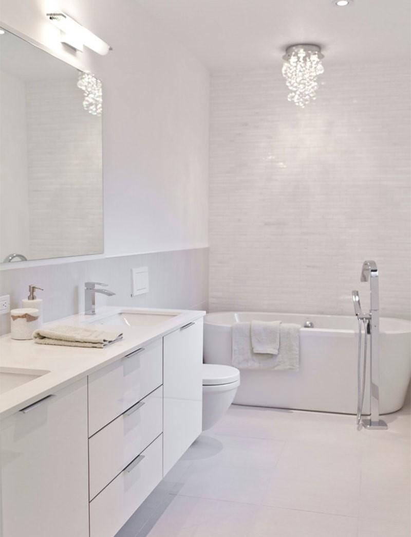 Banheiros Decorados Modernos Para Você Se Inspirar -> Banheiro Feminino Moderno