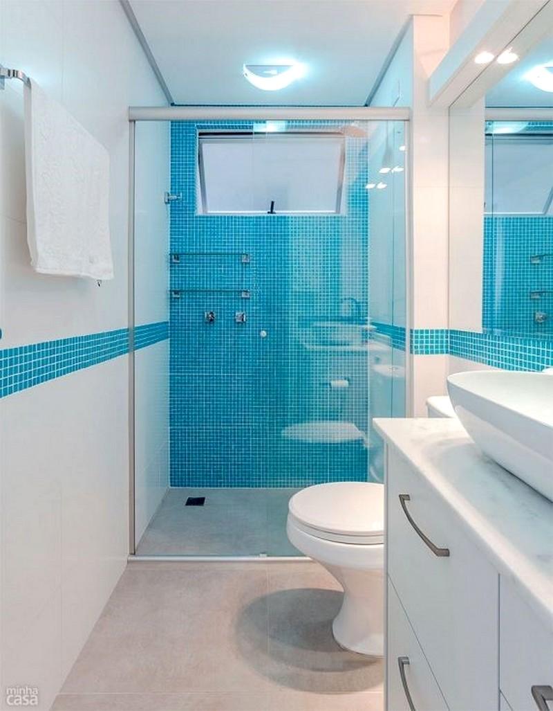 Banheiros Decorados Modernos Para Você Se Inspirar -> Banheiros Decorados Dicico