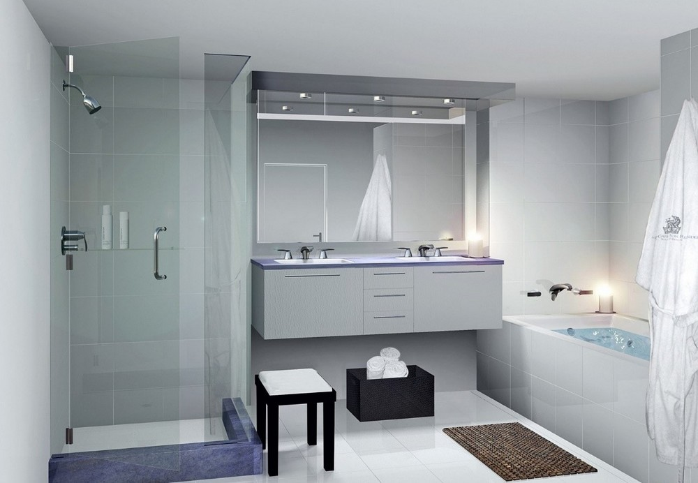 53 modelos de guirlanda de natal for Bathroom designs 2014