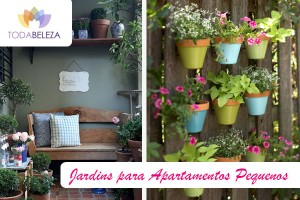 como fazer um jardim em apartamento pequeno