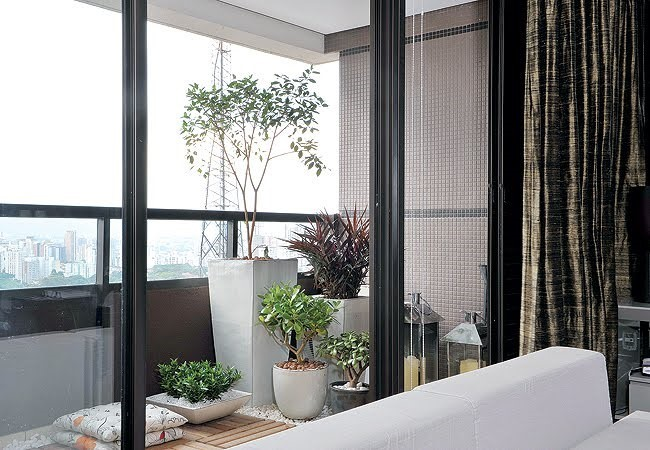 Como Fazer Um Jardim Em Apartamentos Pequenos