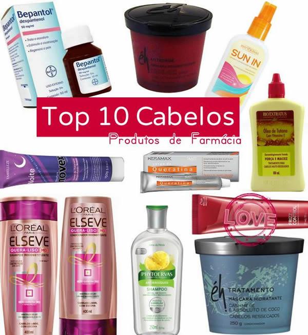 10 produtos perfeitos para os cabelos