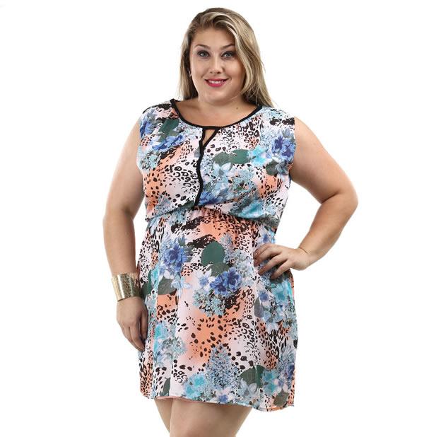 Vestido Plus Size 16