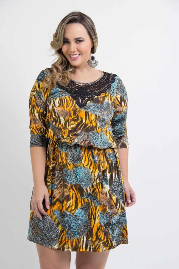 Vestido Plus Size 22