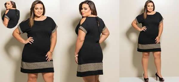 Vestido Plus Size 36