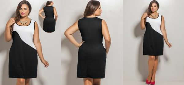 Vestido Plus Size 37