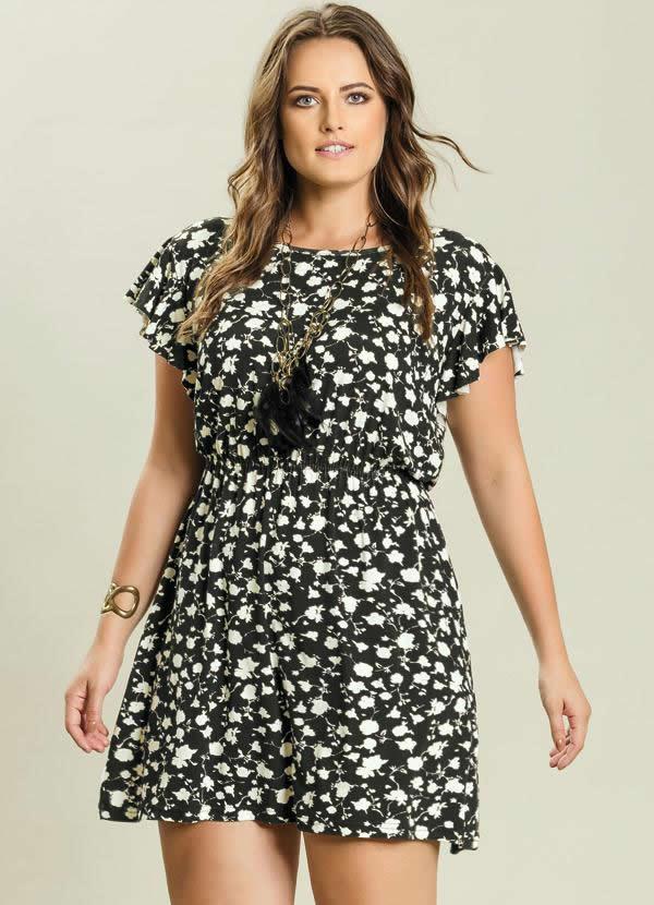 Vestido Plus Size 43