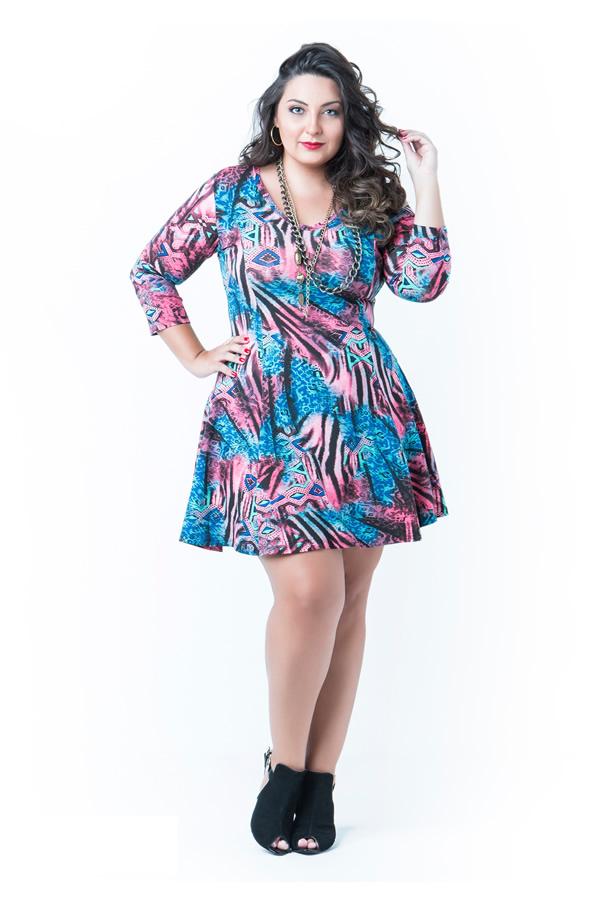 Vestido Plus Size 46