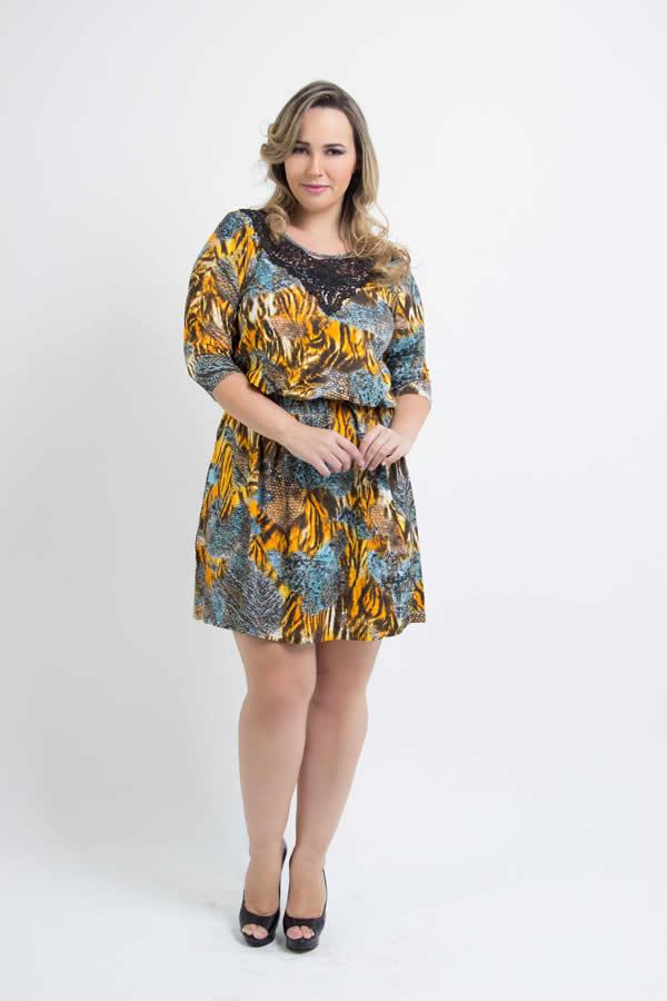 Vestido Plus Size 47
