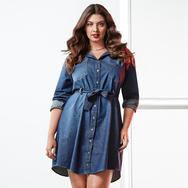 Vestido Plus Size 48