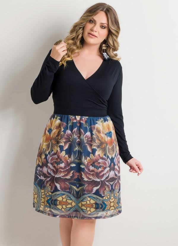 Vestido Plus Size 50