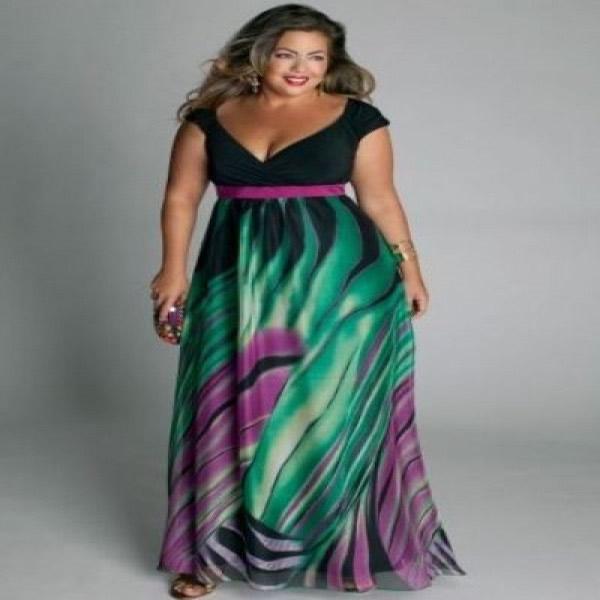 Vestido Plus Size 52