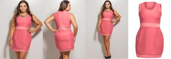 Vestido Plus Size 55