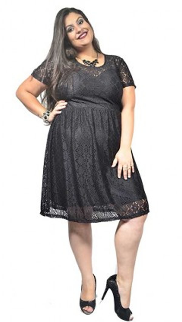 Vestido Plus Size 56