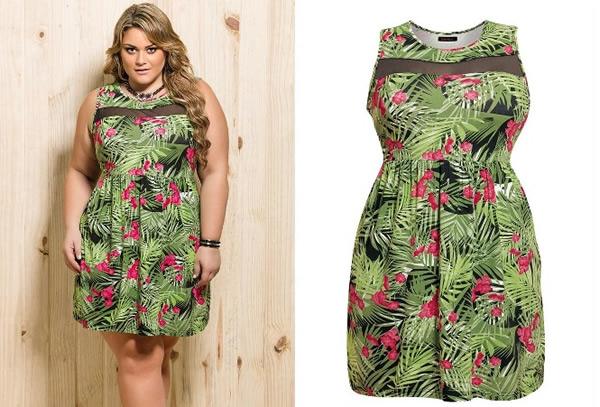 Vestido Plus Size 68