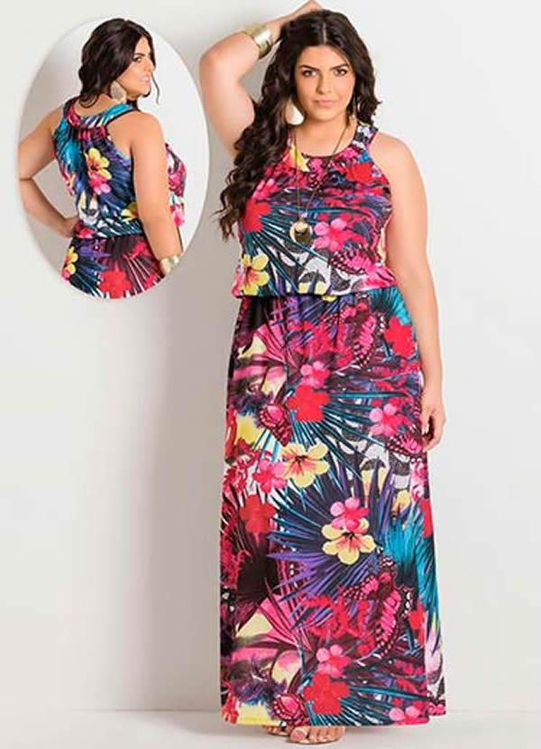 Vestido Plus Size 7
