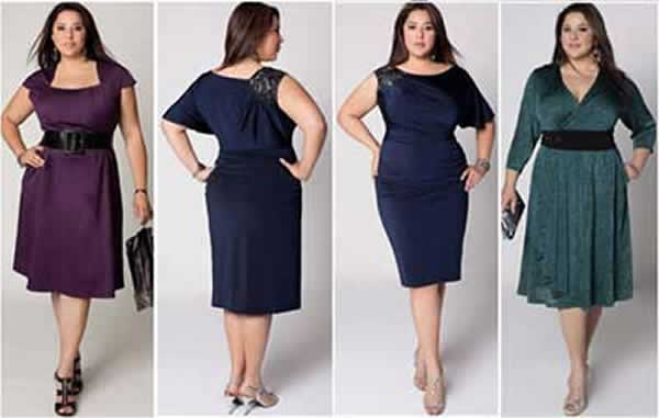 Vestido Plus Size 70