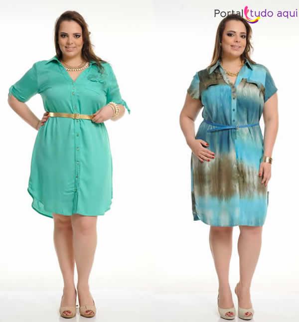 Vestido Plus Size 80