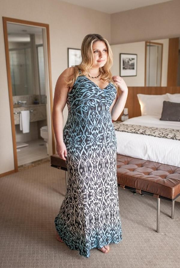 Vestido Plus Size 95