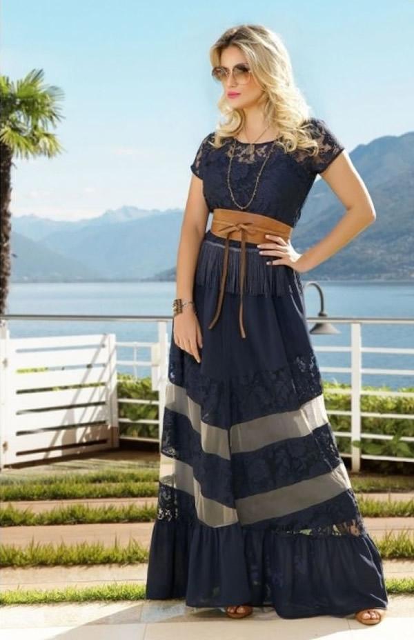 Moda Evangélica vestido 1