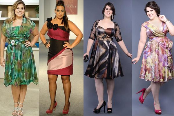 vestido para gordinha modelos chiques