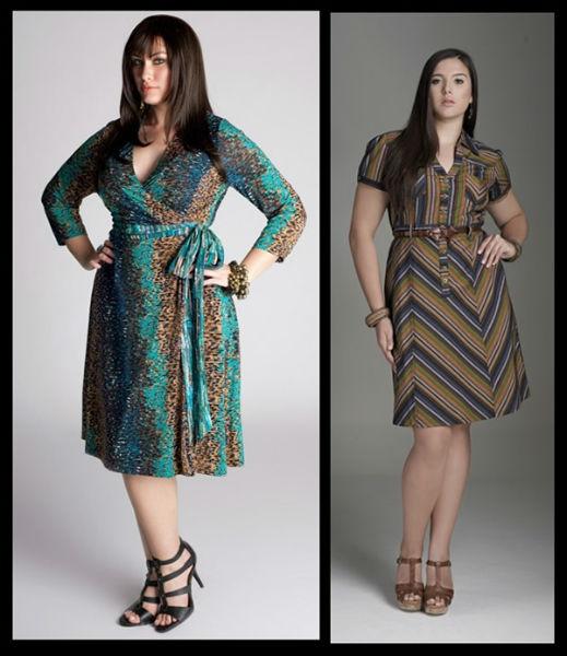 vestido para gordinha modelos diferentes