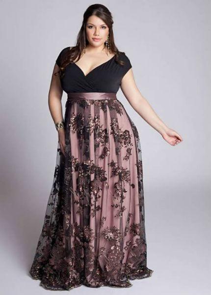 vestido para gordinha para festa com tuli