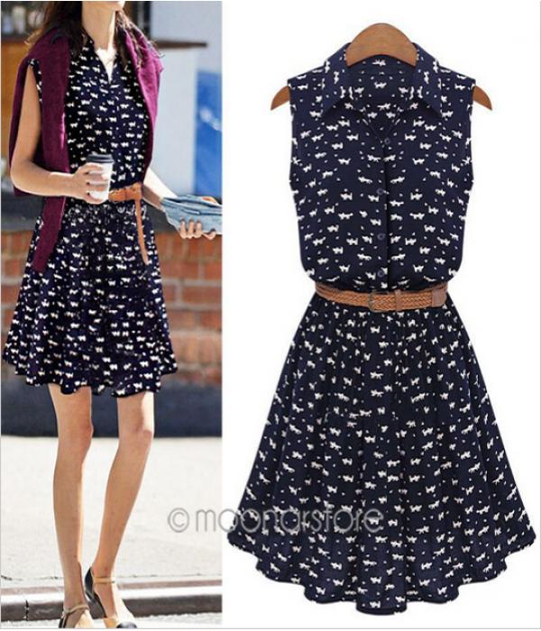 vestidos para o verão tendencia