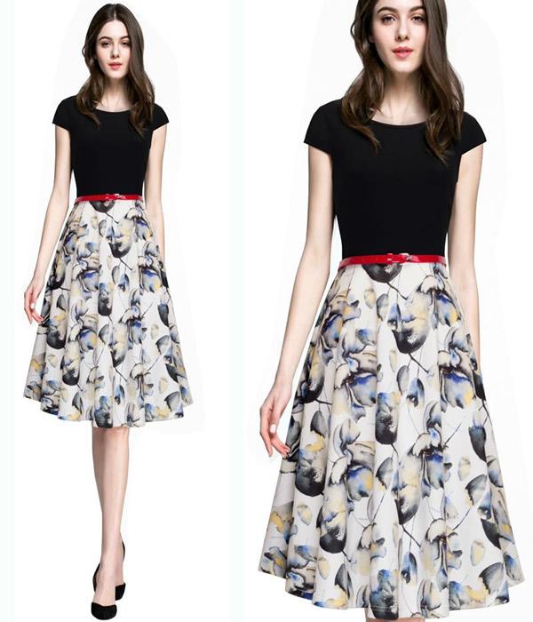 Modelos de vestidos com acessórios