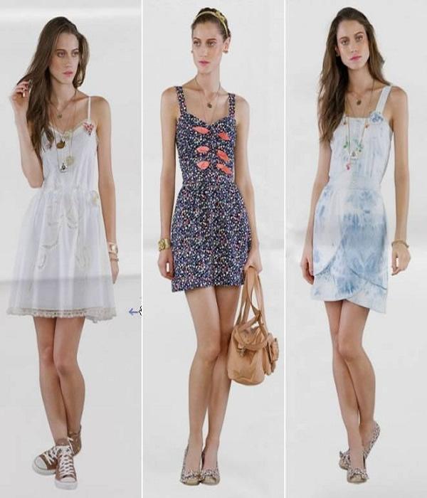 modelos de vestidos básicos medio