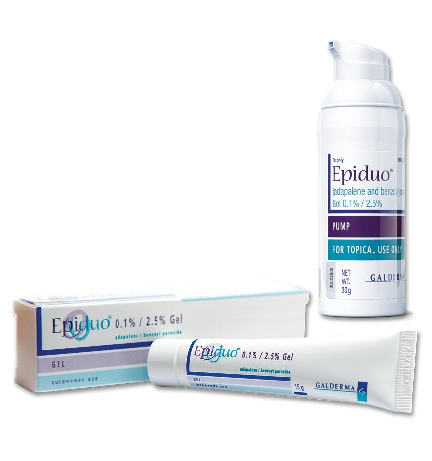 What is in epiduo