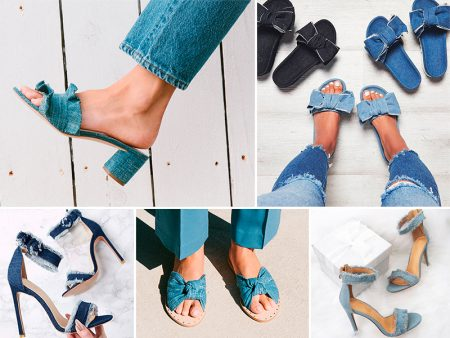 10 tendências de Sapatos Femininos Verão 2018