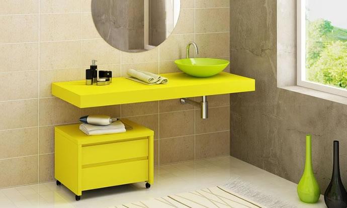 modelos de Banheiros Pequenos Decorados