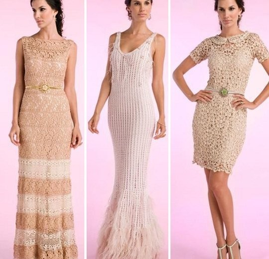 Vestidos de Crochê: Como escolher a melhor opção