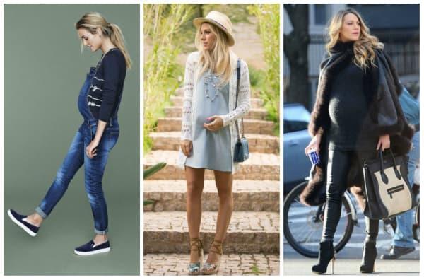 look fashion para gravida