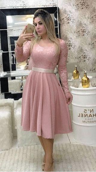 c0dae1edd0d52 10 modelos de Vestidos Godê 2019
