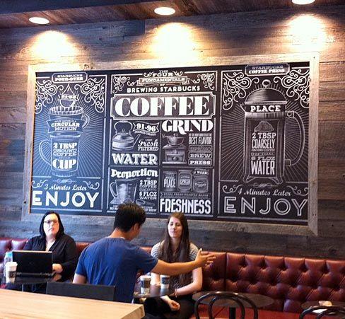 Chalkboard em quadro grande para decoracao