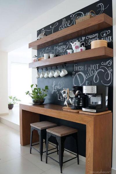 Chalkboard na decoração de casa