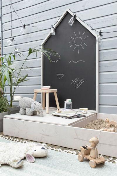 Chalkboard para decorar quarto de criança