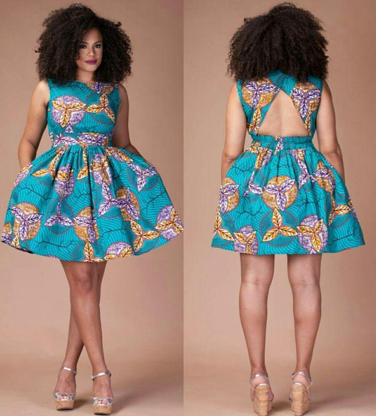 Fotos de vestidos bonitos de capulana