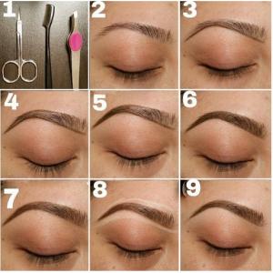 como fazer a sobrancelha com maquiagem