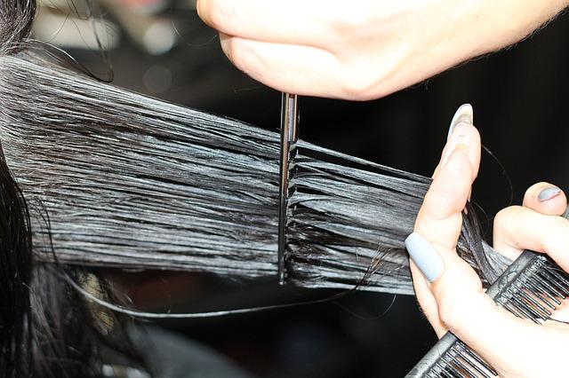 corte de cabelo bordado