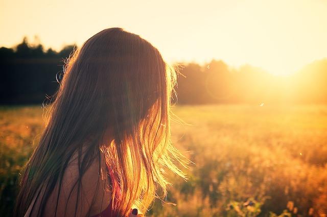 como proteger os cabelos do sol