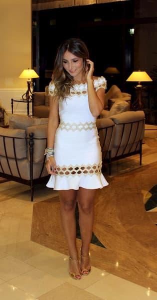 vestido de verao branco para festa