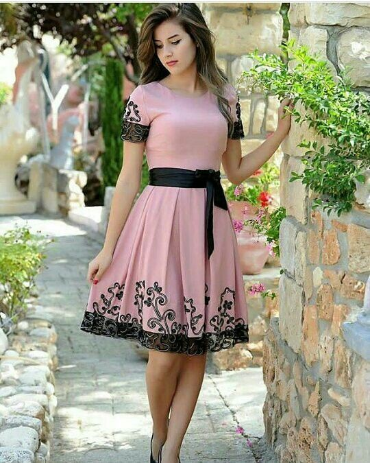vestido evasê